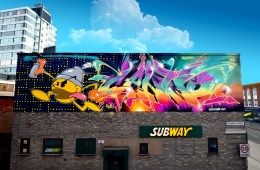 CANTWO WALL IN LEICESTER 2017