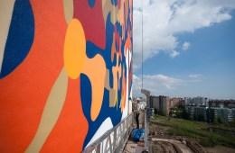 Alexey Kislow Roman Muratkin new murals Saint Peterburg