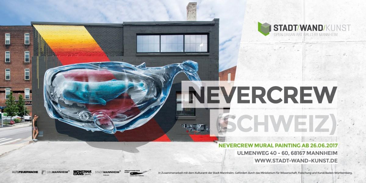 NEVERCREW Mannheim STADT.WAND.KUNST