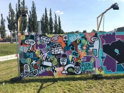 Spektrum 2017_Grossstatttraum Corner_Graffiti Jam_Arndt _ Grumbowski
