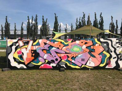 Spektrum 2017_Grossstatttraum Corner_Graffiti Jam_Heis