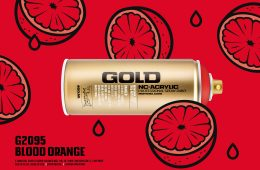 Montana GOLD G2095 BLOOD ORANGE