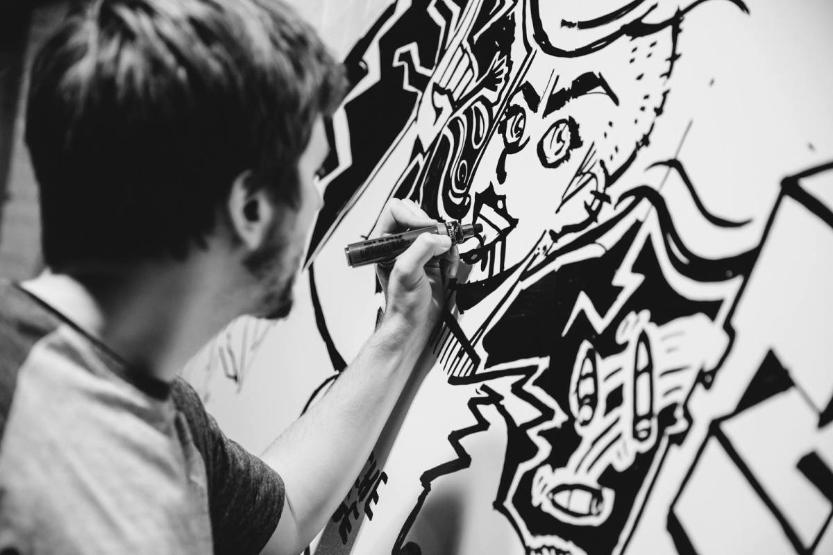 SECRET WARS LIVE ART BATTLE HAMBURG