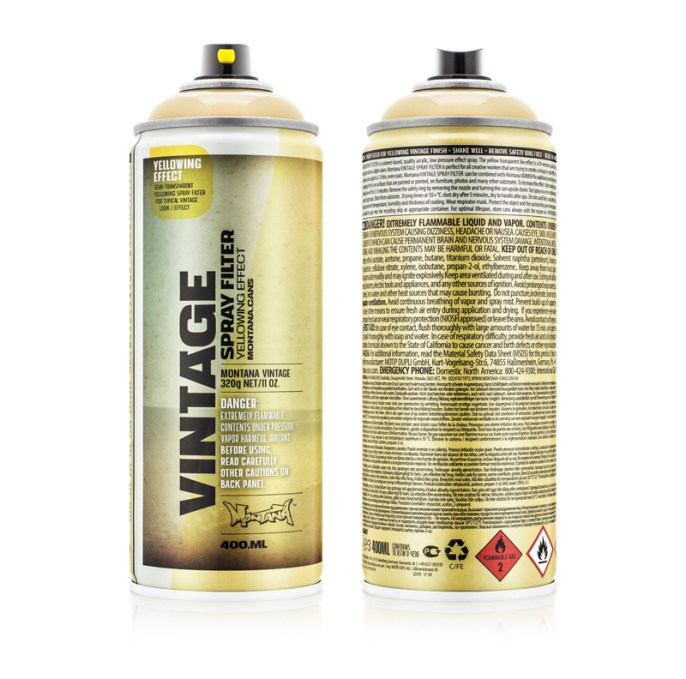 Low-Pressure effect spray.