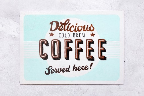 Wooden Sign without VINTAGE Filter