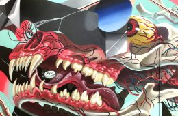 NYCHOS & LOW BROS MURAL IN LOS ANGELES