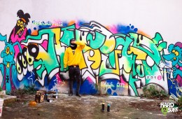 HARD2BUFF #13 featuring graffiti writer ANSYAR