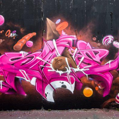 "Spring Wall ""Sugar Shock"" Graffiti Jam"