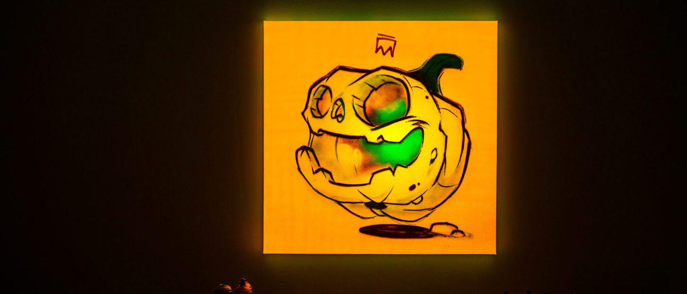 A spooky NIGHTGLOW Halloween