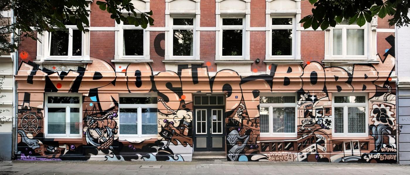Graffiti Artist BOBBY ANALOG