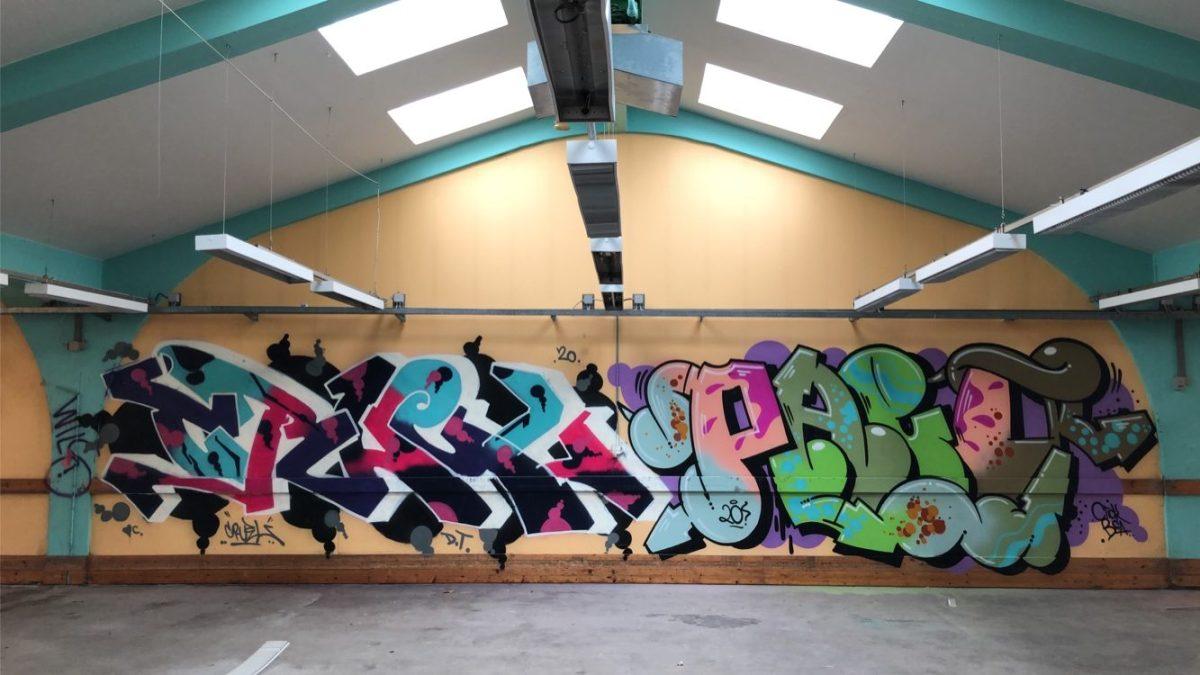 WALL UPDATE BY GRAFFITI WRITER PHEO – PART IV