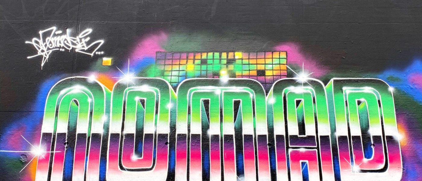 INTRODUCING GRAFFITI ARTIST N.O.MADSKI
