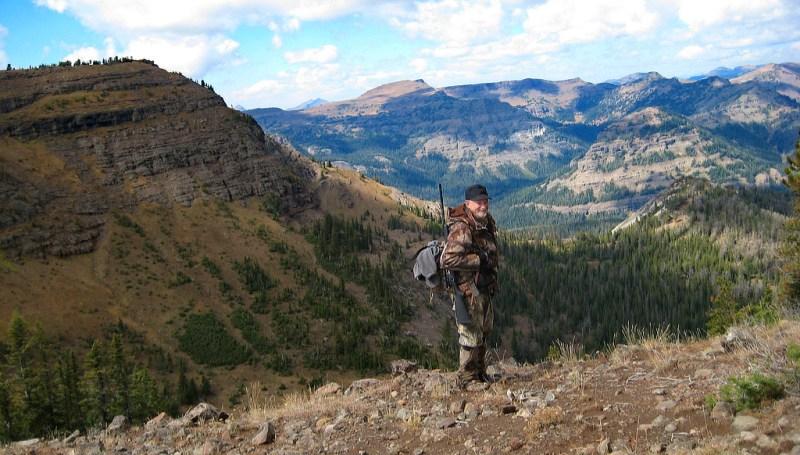 Hunter in the Absaroka-Beartooth Wilderness