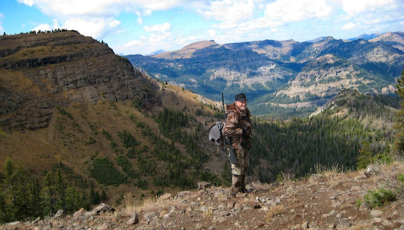 Hunter in the Absaroka-Beartooth Wilderness
