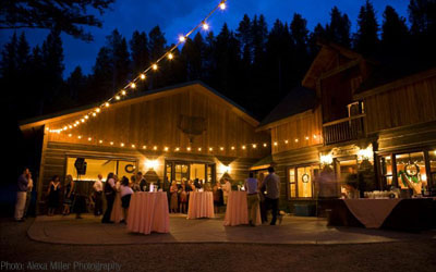 Montana Wedding Venues And Big Sky Wedding Venues Including Bozeman Springhill Red Lodge And