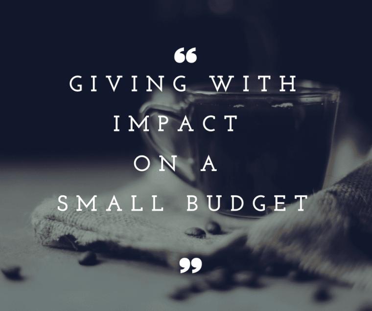 High impact giving