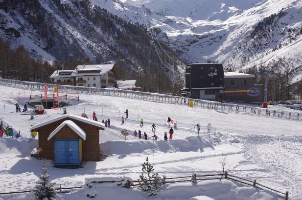 Seilbahn Sulden Skikindergarten