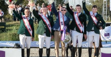 Ireland win Ocala