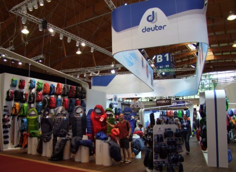 Enorme stand Deuter !