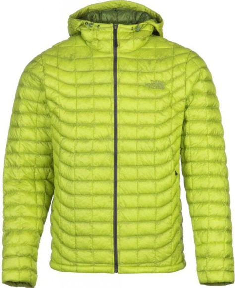 Doudoune homme Thermoball Hoodie Venom Yellow The North Face