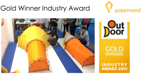 La Tente Polarmond All-in-One : Gold Award Ispo 2015