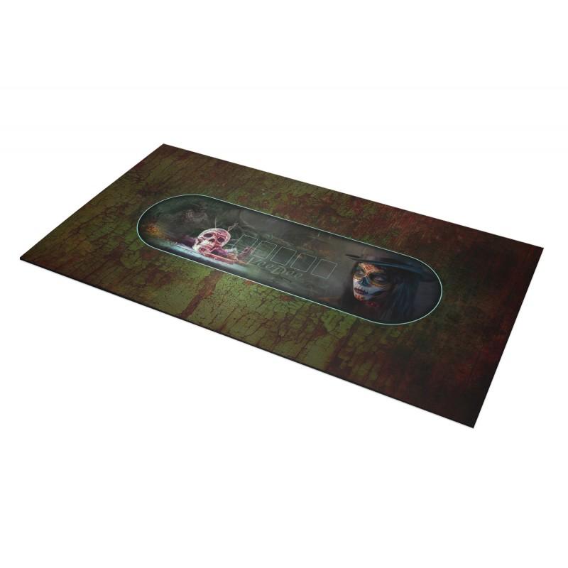 tapis de poker ovale anubis