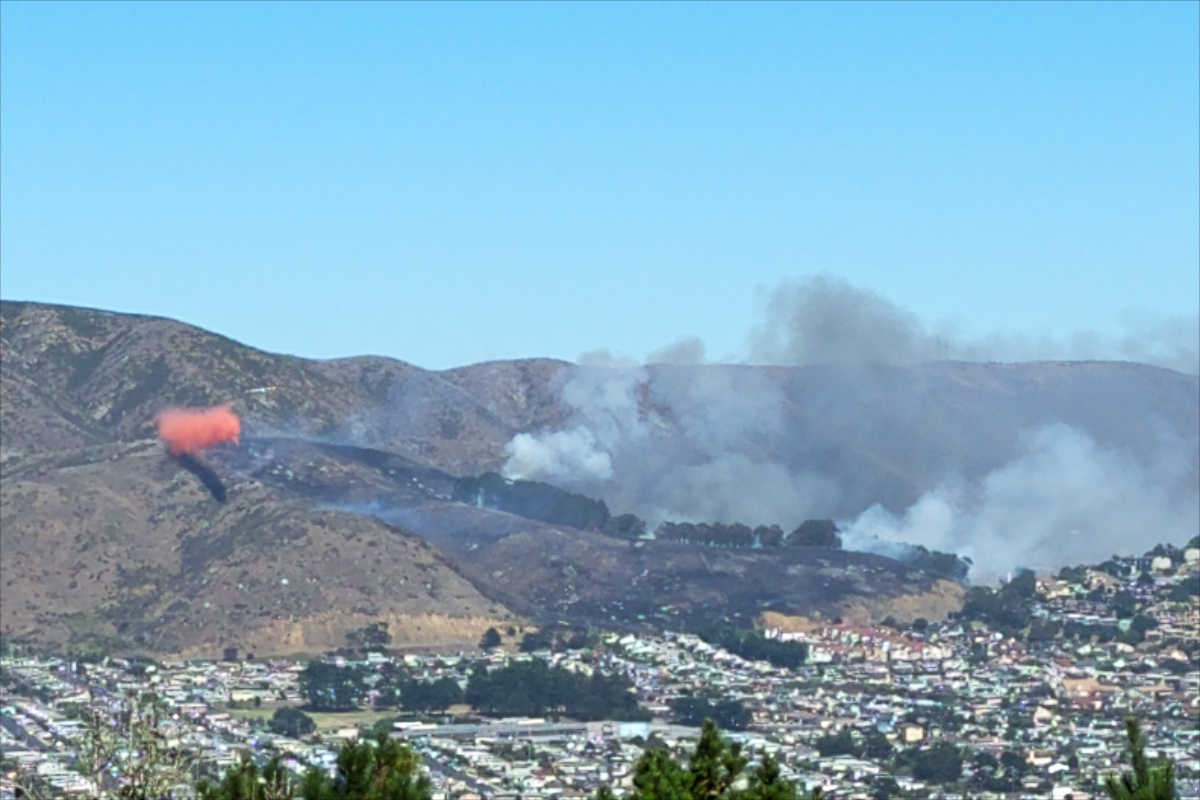 San Bruno Mountain Fire 3