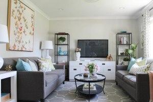 Montáž - Obývací pokoj