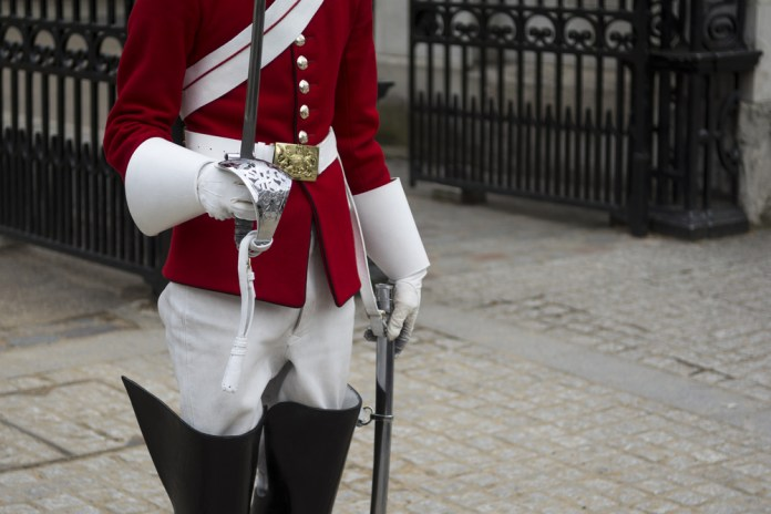 British Army Guards