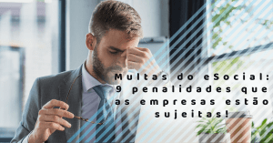 Multas do esocial