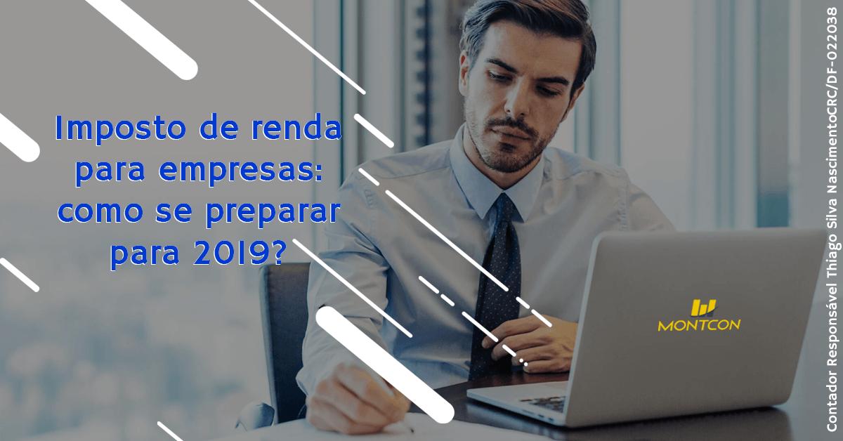 Imposto de renda para empresários 2019