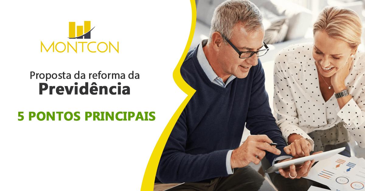 Proposta da reforma da previdencia para aposentadoria