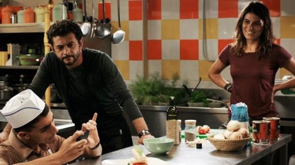 Guido, Arturo et Anna en cuisine  ©NotoriousPictures