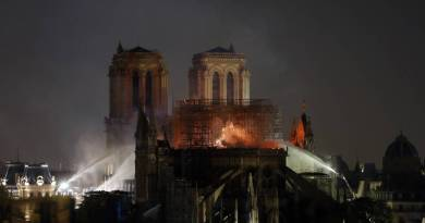 HOLY WEEK 2019: THE NOTRE DAME FIRE DESTROYING INVALUABLE HERITAGE