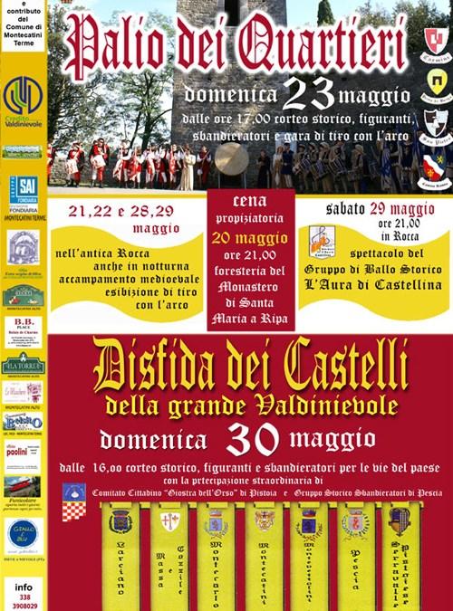 IV°Palio dei Quartieri 2010 – II° Disfida Castelli della Valdinievole