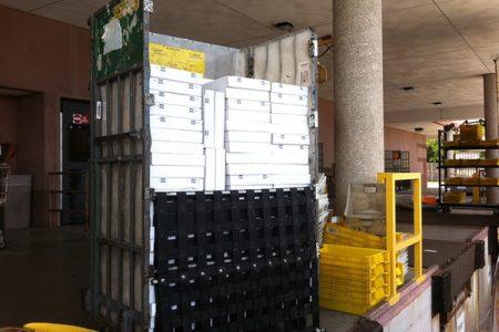 GotF on the USPS loading dock