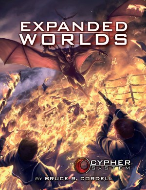 Cypher System Expanded Worlds -  Monte Cook Games