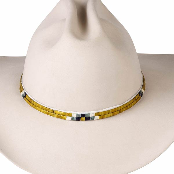 2 Strand Porcupine Quill Hat Band