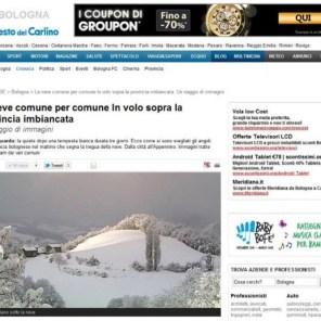 Notizie meteo RESTO DEL CARLINO