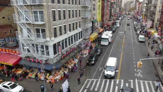 New York - China Town - Manhattan - di Claudio Leoni