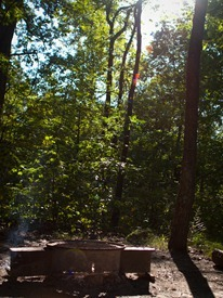 Camping at Zaleski State Forest - 09.06.2010 - 09.22.24