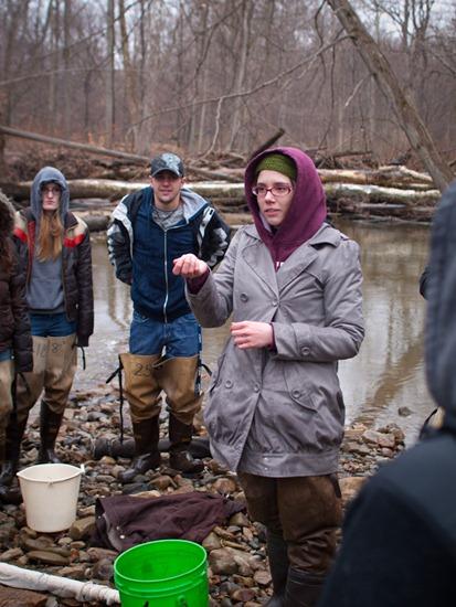 Vertebrate Zoology Spring 2011 - Fish Seining - 03.15.2011 - 11.24.44