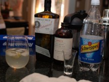 The winner of the Booze Club: Gin meeting---Uncle Tom's