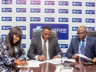 Funke Akindele signs Endorsement deal with Keystone Bank