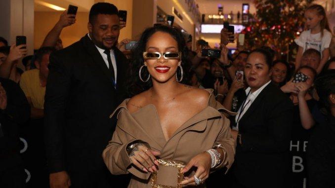 Rihanna at Fenty Beauty Launch