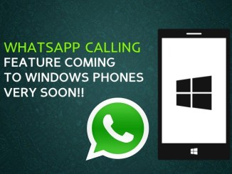 Whatsapp Calling Feature Hitting iOS & Windows Mobile Soon
