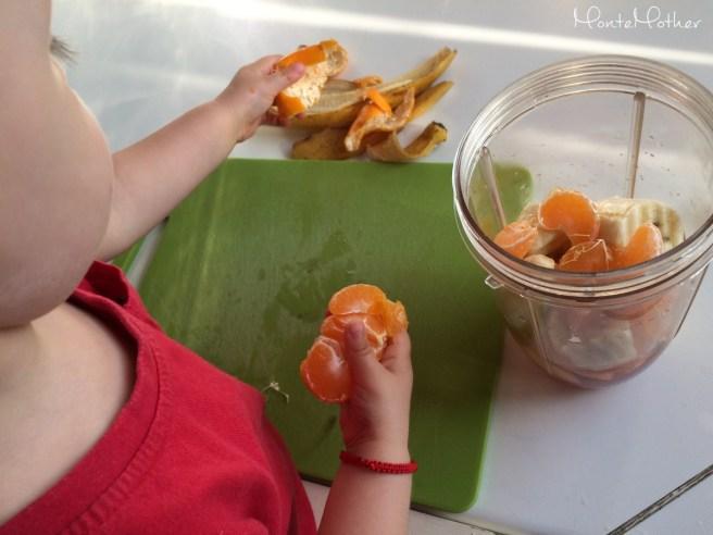 Montessori v kuchyni