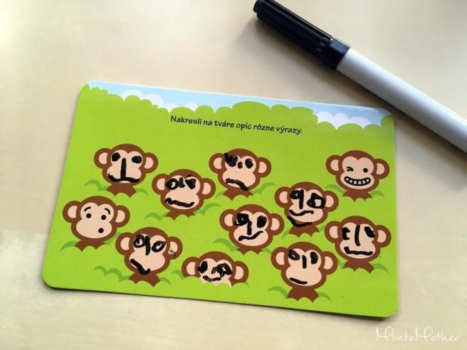 domaluj na karty zvierata