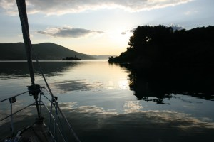 sunset yacht monty b tivat bay