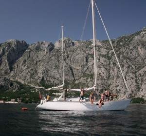 Fantastic day trips on a yacht in Kotor Bay Montenegro